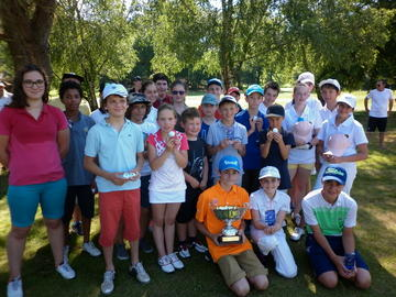 Finale du Challenge DESCOUBES Inter Ecoles de golf 2016